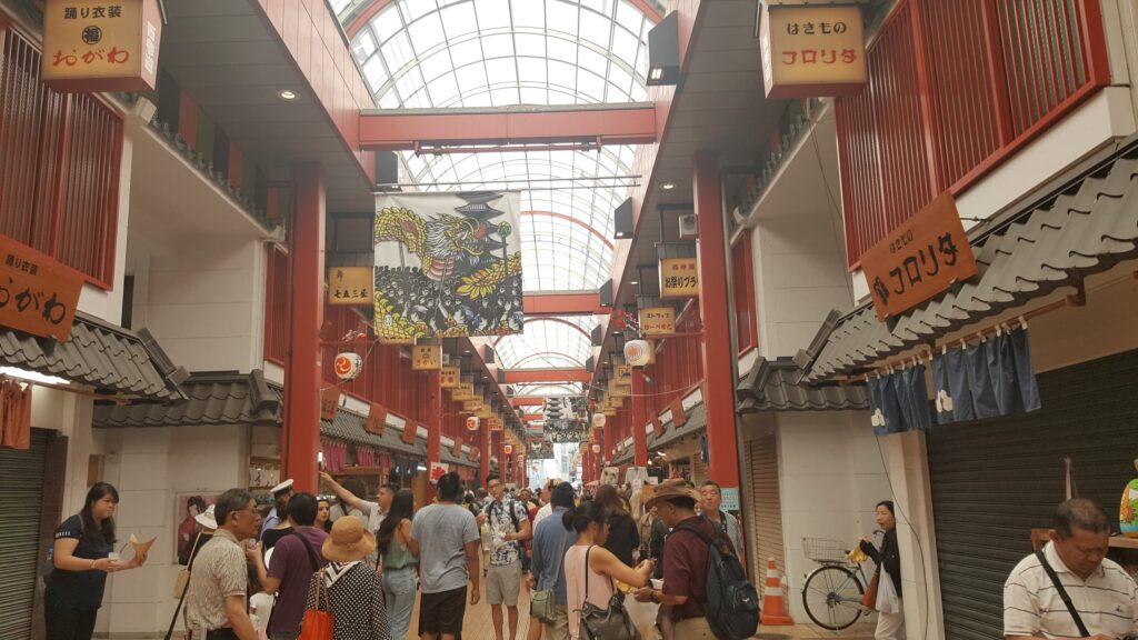 Mercatino di Asakusa a Tokyo