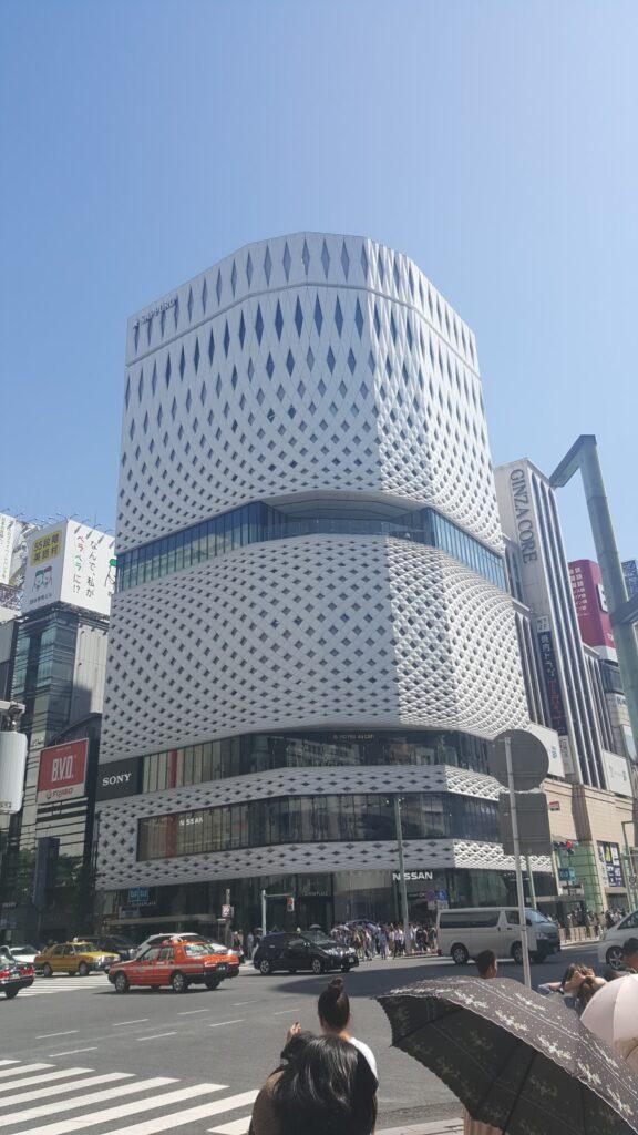 Centro commerciale a Ginza (Tokyo)