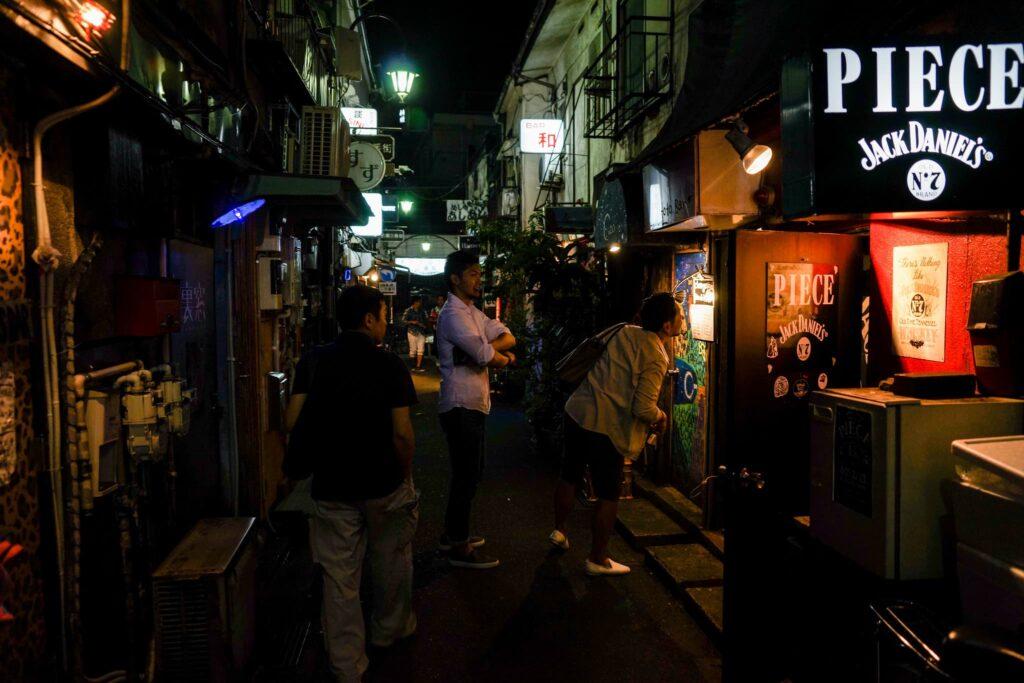 Alla ricerca di un locale a Golden Gai (Shinjuku)