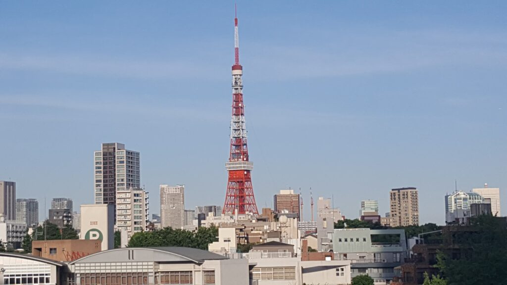 Tokyo Tower vista da Roppongi Hills
