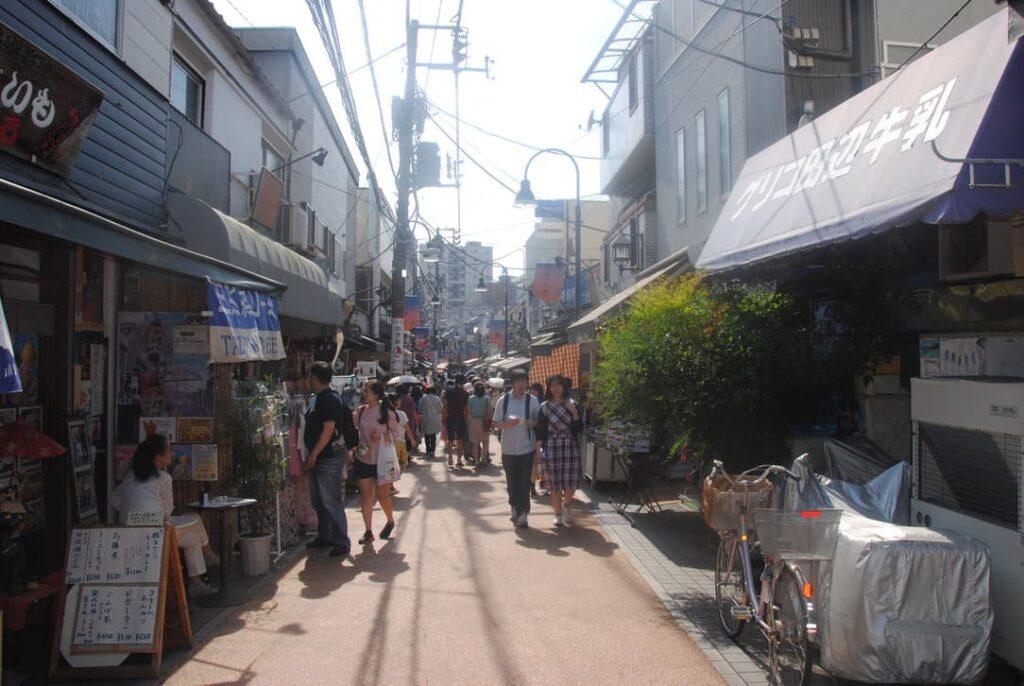 Negozi a Yanaka (Tokyo)