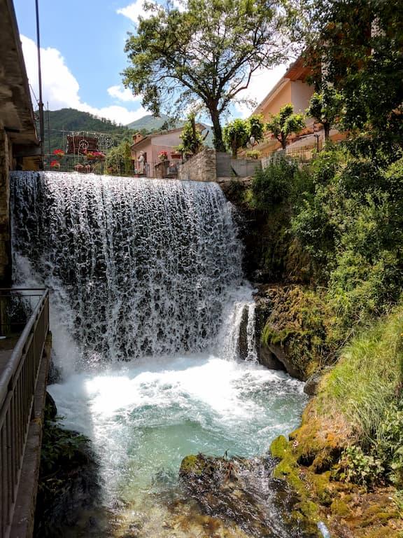 Cascata di Sefro