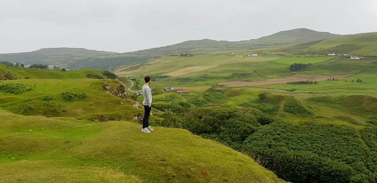 Isola di Skye (Fairy Glen)