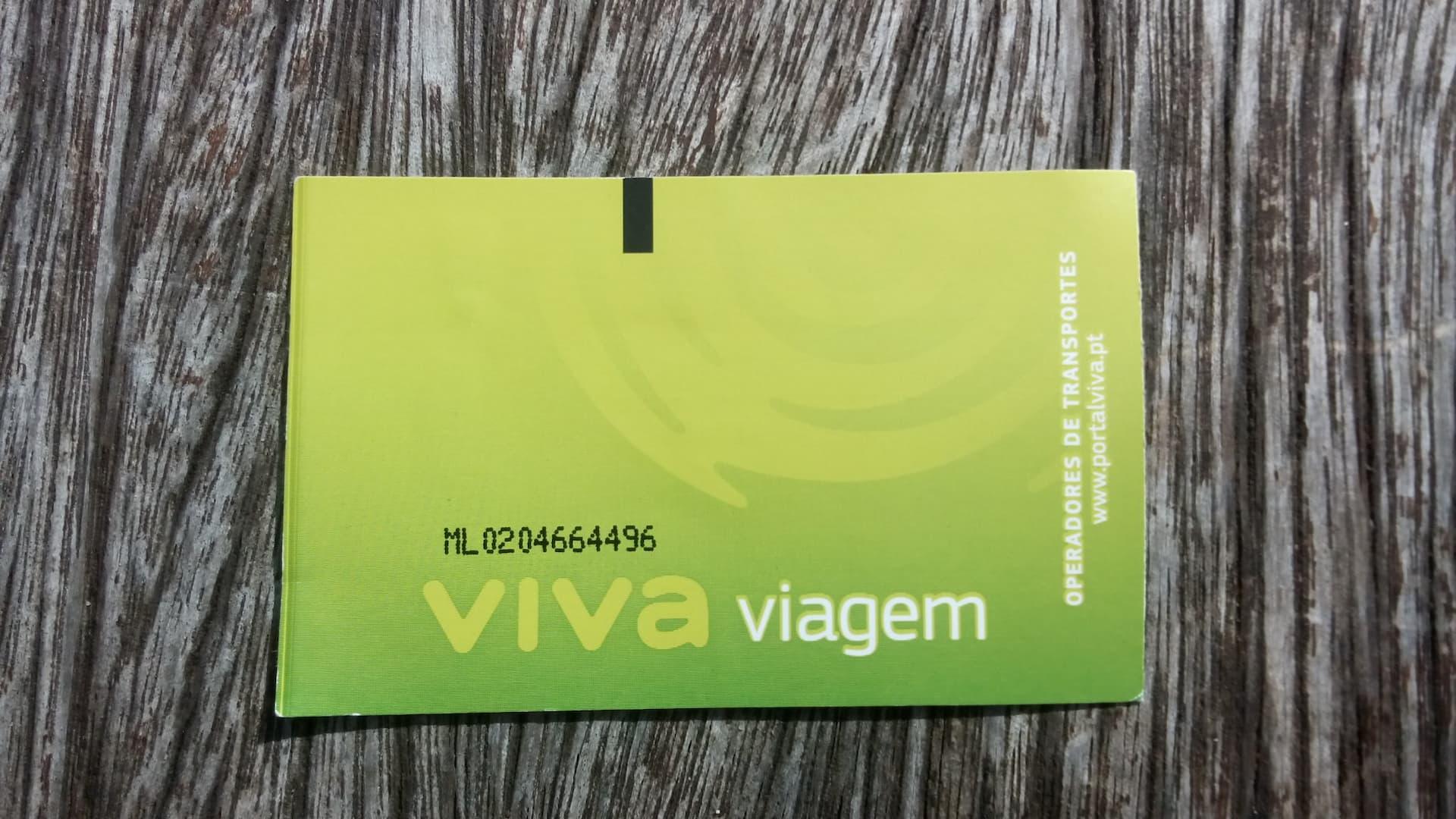 Viva Viagem, card per muoversi a Lisbona