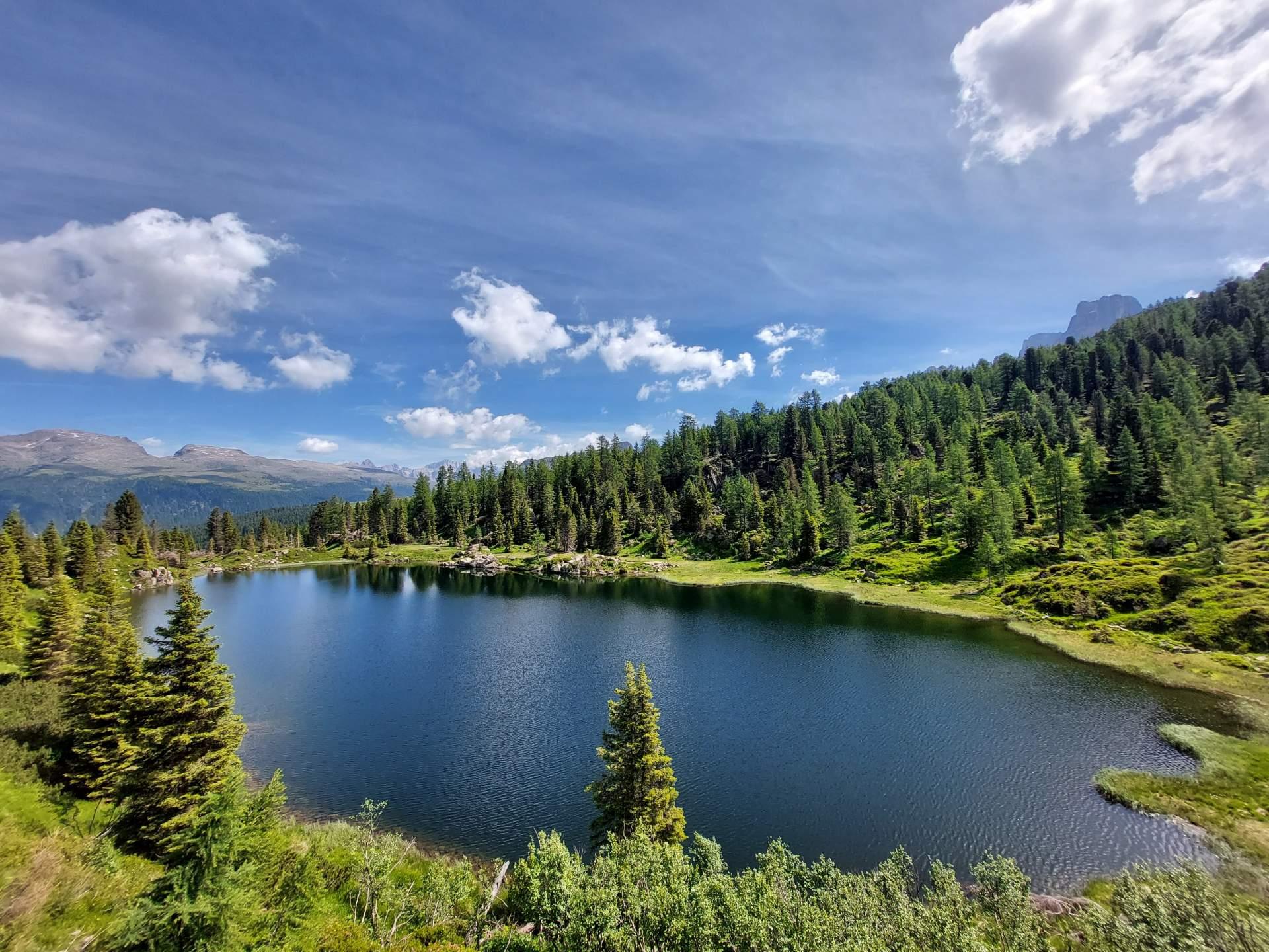 Lago inferiore Colbricon